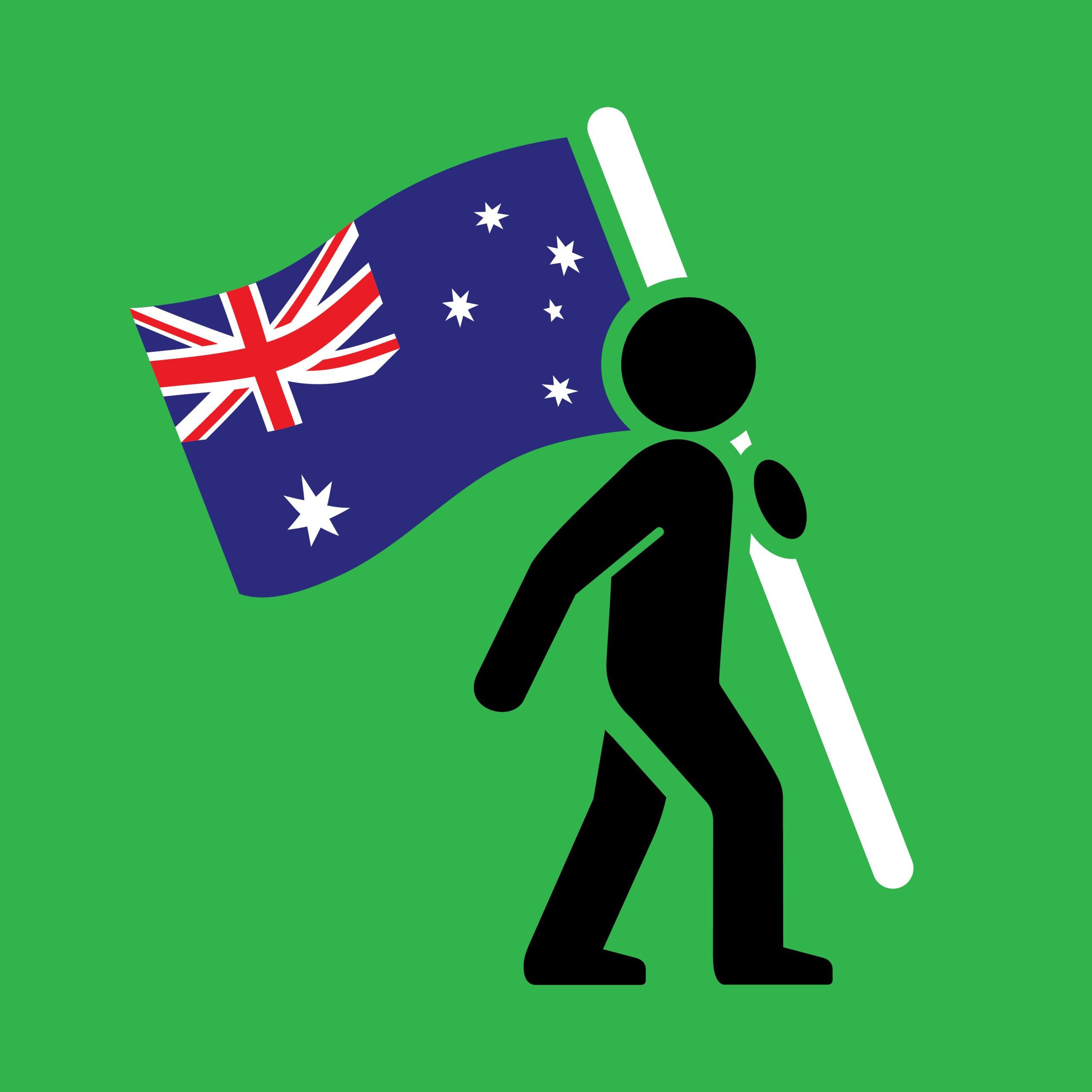 Allen with Flag_AU